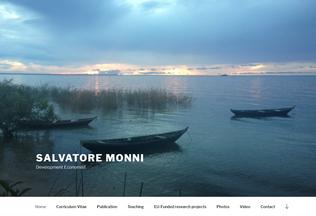 Website salvatoremonni.it desktop preview