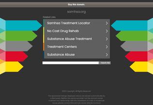 Website samhsa.org desktop preview