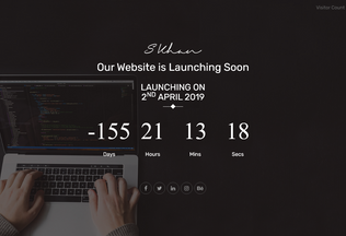 Website sanaullahkhan.in desktop preview