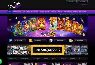Website saya111.com desktop preview