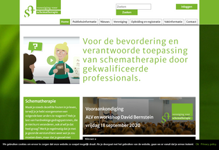 Website schematherapie.nl desktop preview