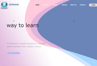 Website scholartude.com desktop preview