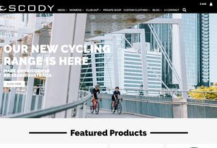 Website scody.com desktop preview
