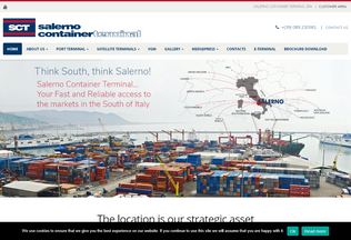 Website sct-salerno.net desktop preview