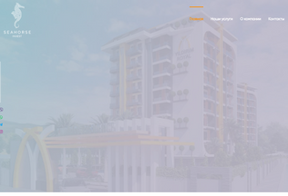 Website seahorseinvest.uz desktop preview