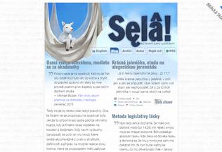 Website selah.cz desktop preview
