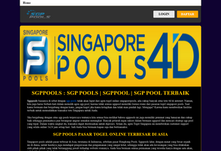 Website sgppools.neocities.org desktop preview