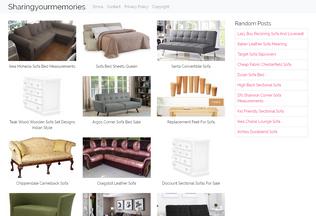Website sharingyourmemories.info desktop preview