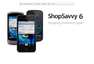 Website shopsavvy.mobi desktop preview