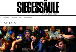 Website siegessaeule.de desktop preview