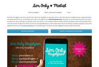Website simonlyhuis.nl desktop preview