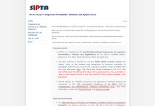 Website sipta.org desktop preview