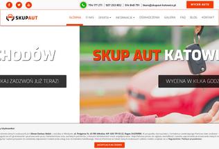Website skupaut-katowice.pl desktop preview