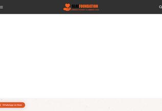Website slaefoundation.org desktop preview