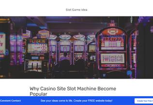 Website slot-game-idea.my-free.website desktop preview