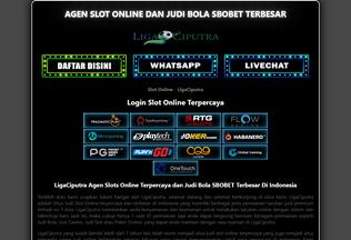 Website slotciputra.com desktop preview