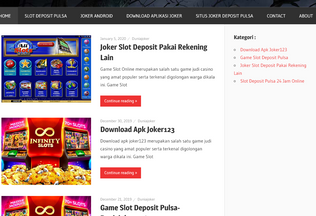 Website slotpulsa.me desktop preview