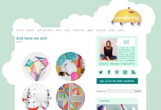 Website smallforbig.com desktop preview