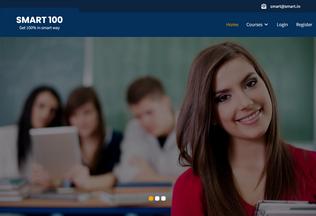 Website smart100.in desktop preview