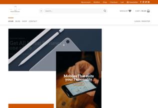 Website smartphoneage.com desktop preview