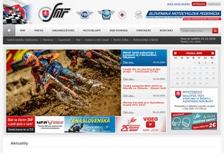 Website smf.sk desktop preview