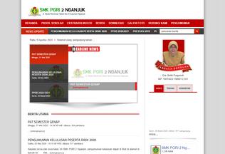 Website smkpgri2nganjuk.sch.id desktop preview