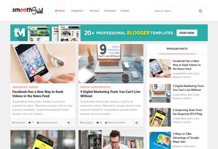 Website smoothgrid-templatemark.blogspot.com desktop preview