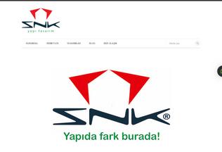 Website snkyapitasarim.com desktop preview