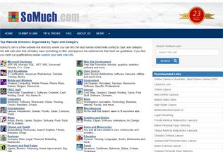 Website somuch.com desktop preview