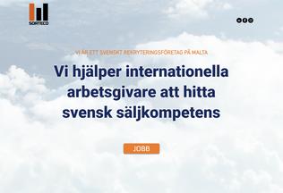 Website sorteco.se desktop preview