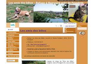 Website spa-fougeres.fr desktop preview