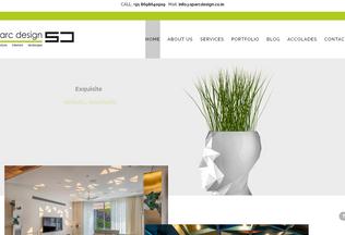 Website sparcdesign.co.in desktop preview