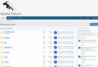 Website sport-forum.net desktop preview