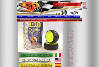 Website spracing.it desktop preview