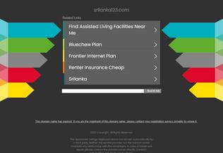 Website srilanka123.com desktop preview