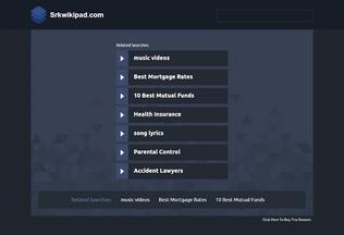 Website srkwikipad.com desktop preview
