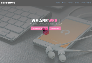 Website ssinfomate.in desktop preview