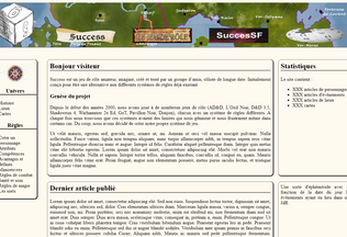 Website successjdr.fr desktop preview