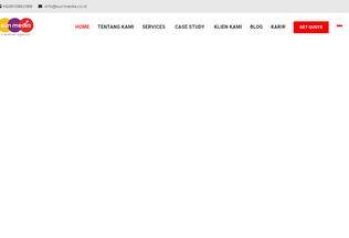 Website sunmedia.co.id desktop preview