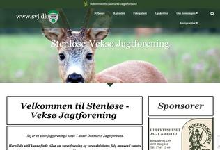Website svj.dk desktop preview