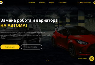 Website swapprofi.ru desktop preview