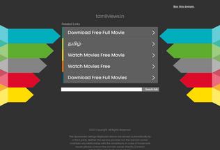 Website tamilviews.in desktop preview