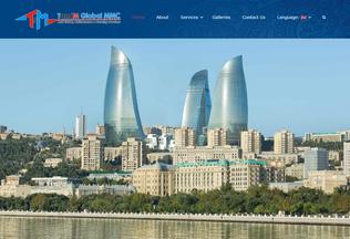 Website tandmglobal.az desktop preview