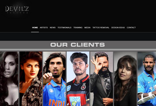 Website tattoosnewdelhi.com desktop preview