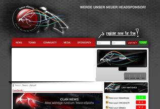 Website tesco-esport.eu desktop preview
