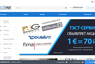 Website test-opt.ru desktop preview