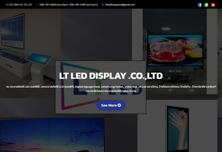 Website thailtled.com desktop preview
