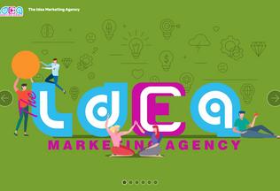 Website theidea-eg.com desktop preview