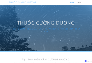 Website thuoccuongduong.webflow.io desktop preview