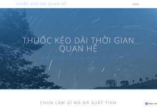 Website thuockeodaithoigianquanhe.webflow.io desktop preview